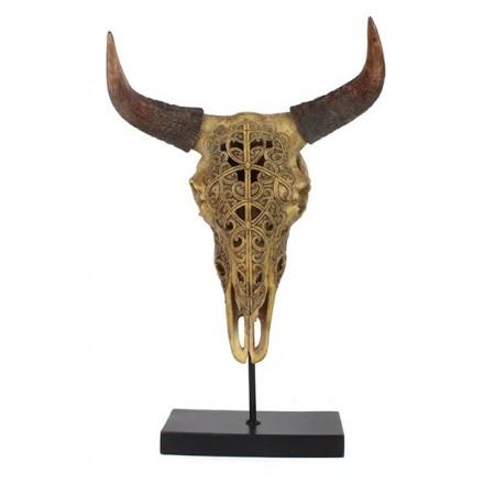 By-boo skull op standaard