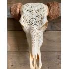 Longhoorn gegraveerd 150 cm