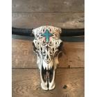 Skull ecru kruis