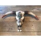 Skull groot met ecru stenen