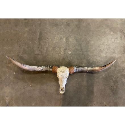 Skull longhoorn dierenschedel 160 cm