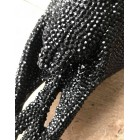 Skull black diamond zwarte hoorns