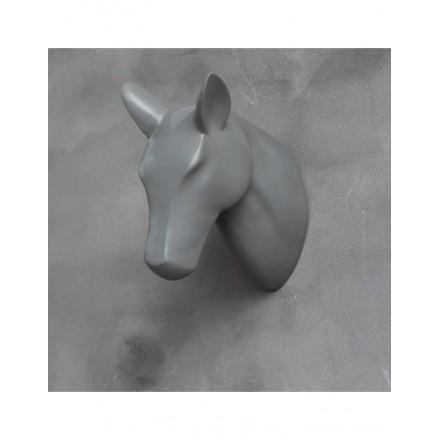 Skull paard grijs