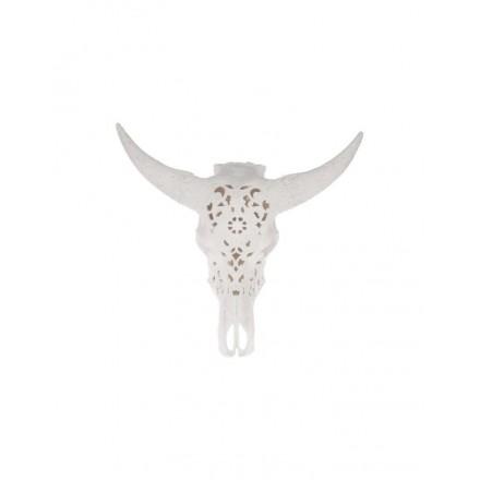 Skull wit groot